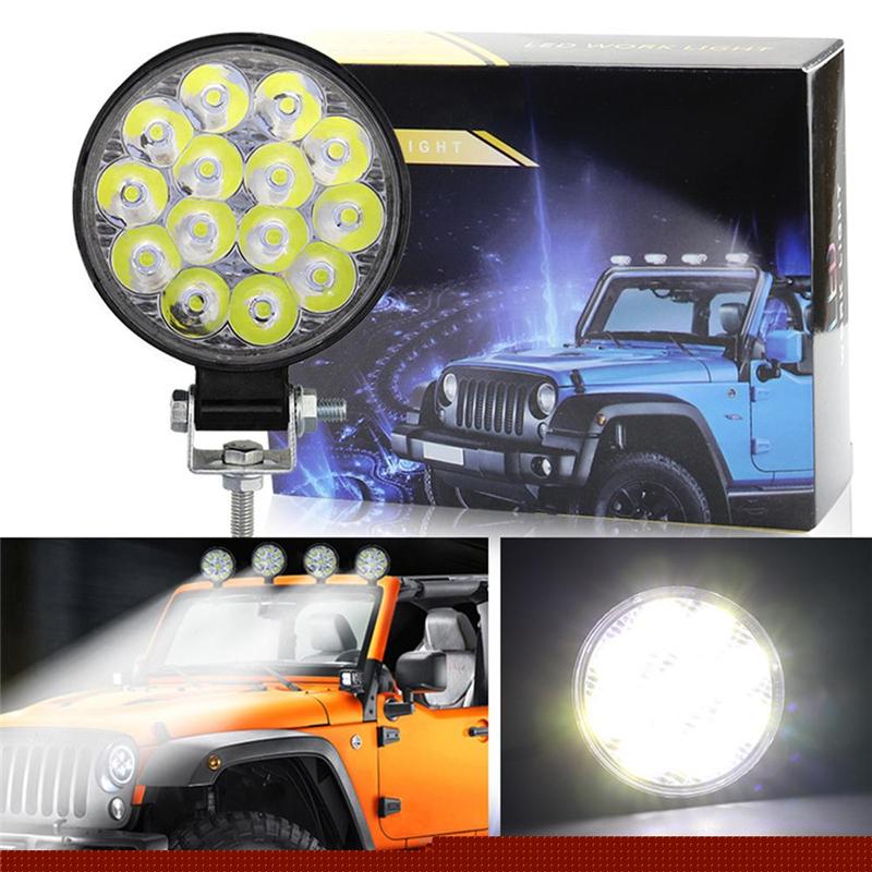 2000LM Light Bar 9W Led Fog Lights Waterproof Work light for Cars Motorcycle
