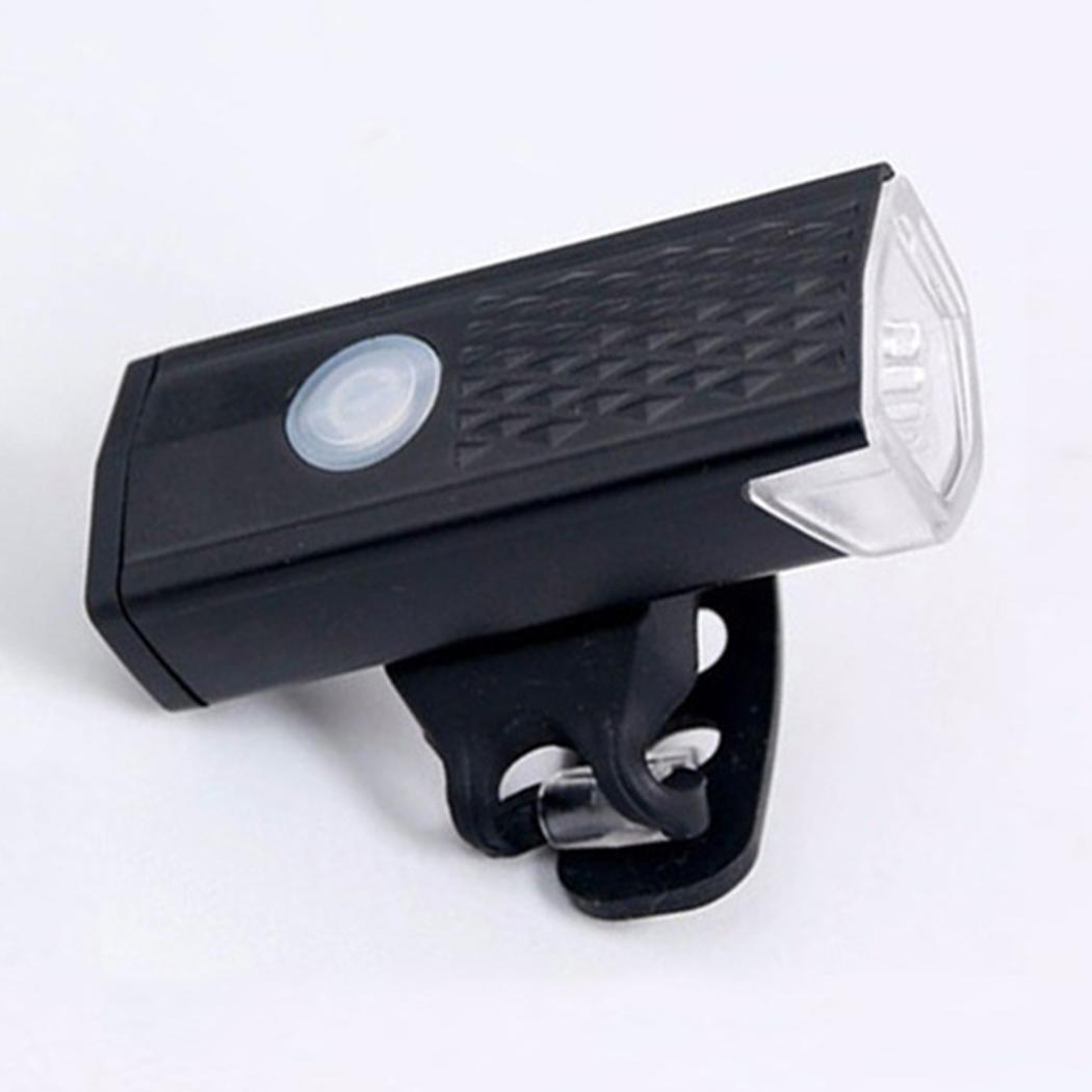 Nouvelle lumière extérieure à LED de vélo de vélo rechargeable en plein air d'USB LED Nouvelle lumière à 360 degrés de tête de vélo rotatif