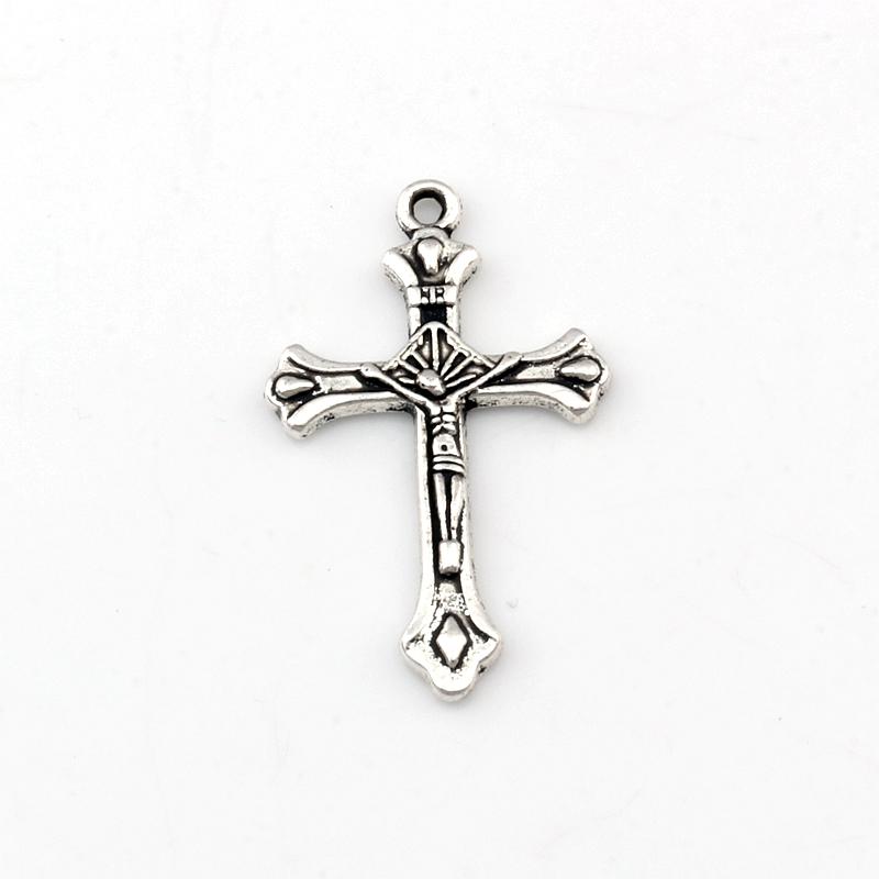 DYSCN Vintage Collier J/ésus Christ Crucifix Grande Croix Pendentif Religieux Collier /Él/égant Accessoires pour Femmes Hommes Bijoux Cadeaux