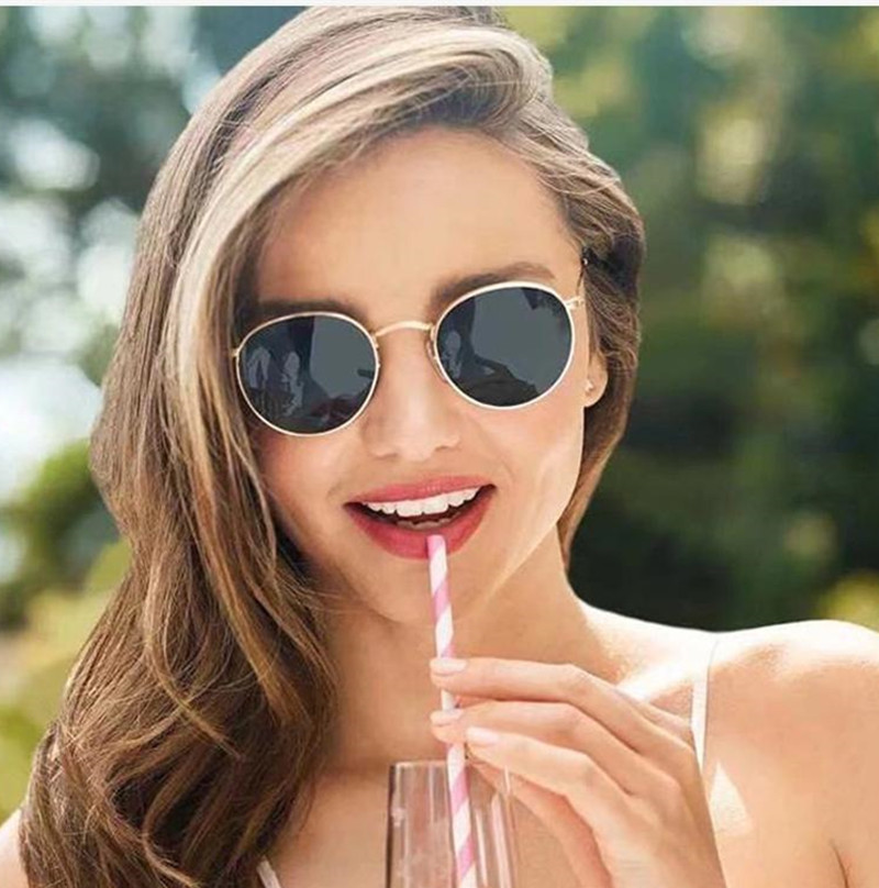 round metal classic ray ban sunglasses