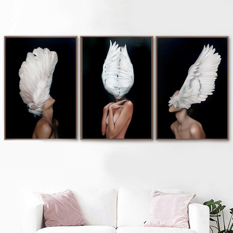 Ni/ños Cartel Nube Globo Beb/é Vivero Arte de la pared Impresi/ón en lienzo Pintura Imagen decorativa Ni/ño Ni/ña Dormitorio Decoraci/ón-50x70cm Sin marco