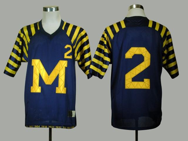Michigan Wolverines #2 Charles Woodson Blue Jersey 2 Woodson Ncaa College Authentic Football Jerseys Free Shipping 2014 New