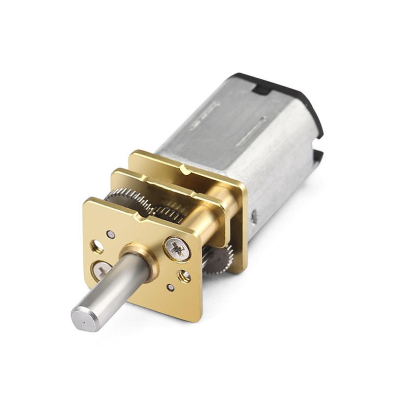 1pc M/étal DC 6V 100RPM Micro R/éducteur de Vitesse de Moteur Electrique /à Engrenages Moteur /à Engrenages