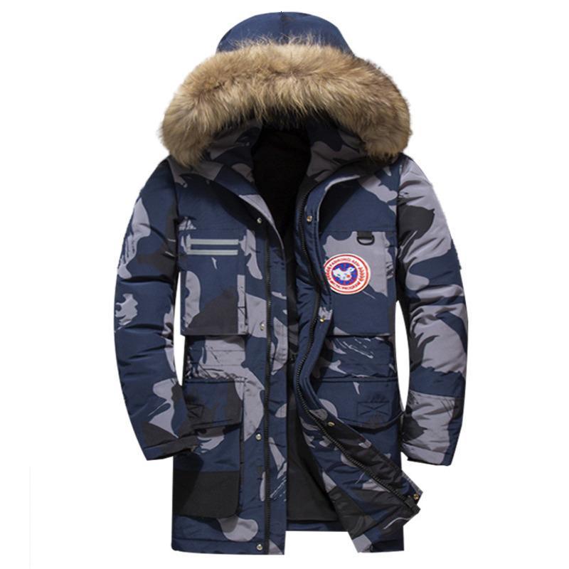 Homme Trench à capuche parka mi long manteau Veste Combat Chaud Militaire Armée Manteau