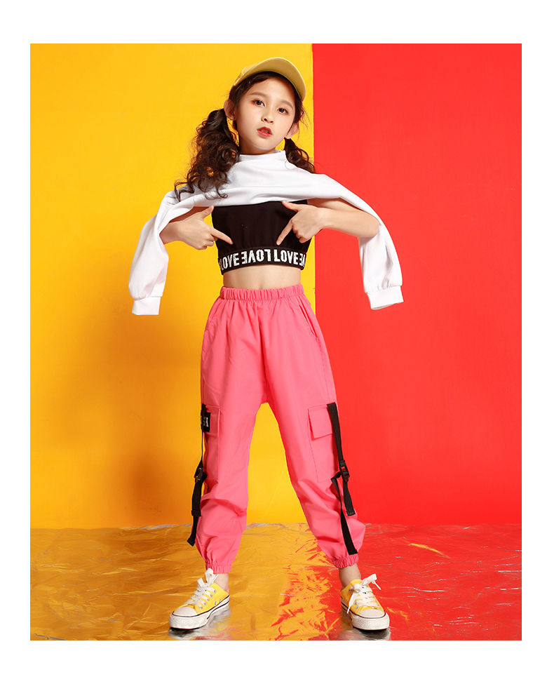 Girls boutique outfits 4 6 8 10 123 14 16 18 Years hip hop hoodies sweatshirts kids costumes girls kids summer clothes (12)