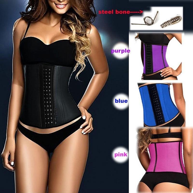Fajas-Corset-Latex-Waist-Trainer-Wholesale-Women-Corrective-Underwear-Slim-Shaper-10pcs-Waist-Shaper-Corsets-Slimming