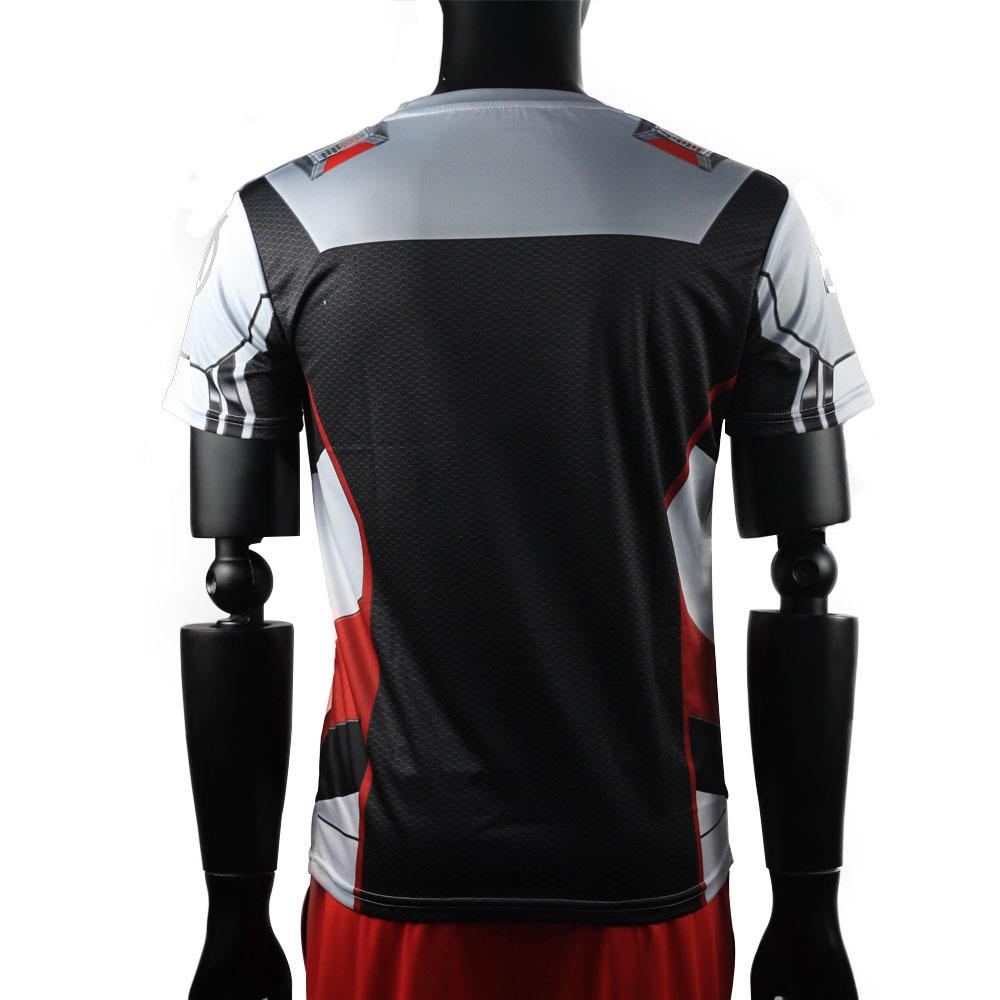 3D Avengers Endgame Realm Cosplay T-shirt Iron Man Captain Marvel Captain America Black Widow Costume Sport Tight Tees Dropship11
