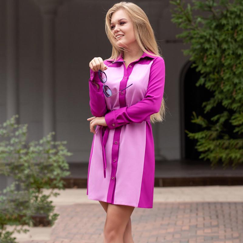Compre Las Mujeres De La Plaza De La Vendimia Del Botón Del Color Que Empareja El Vestido De Las Señoras Ocasionales Da Vuelta Abajo Fajas De Cuello