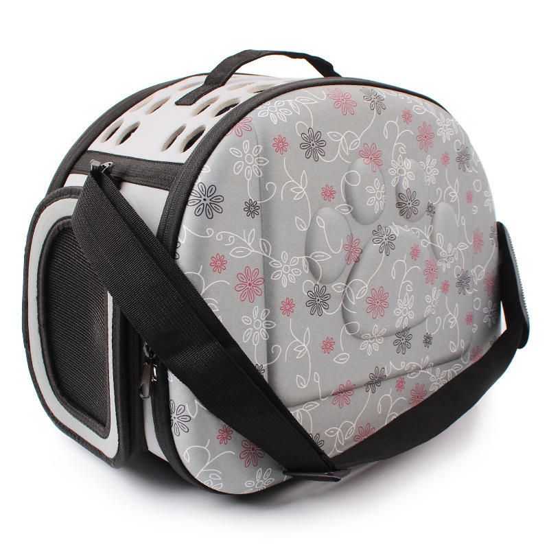 Foldable Pet Dog Carrier Airline Approved Outdoor Travel Puppy Shoulder Bag For Small Dog Y19061901