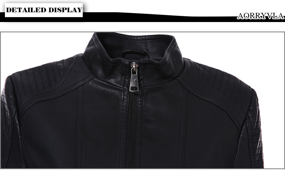 Brand Leather Jacket (4)