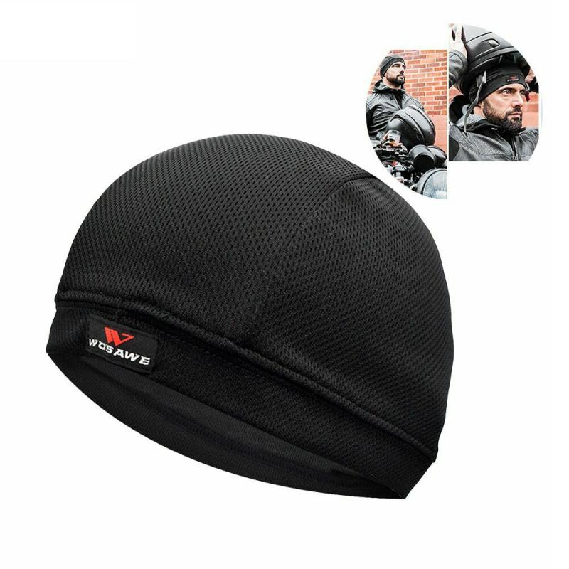 Coolmax Helmet Liner Motorcycle Biker Cyclist Scooter Rider Cool Max One Size