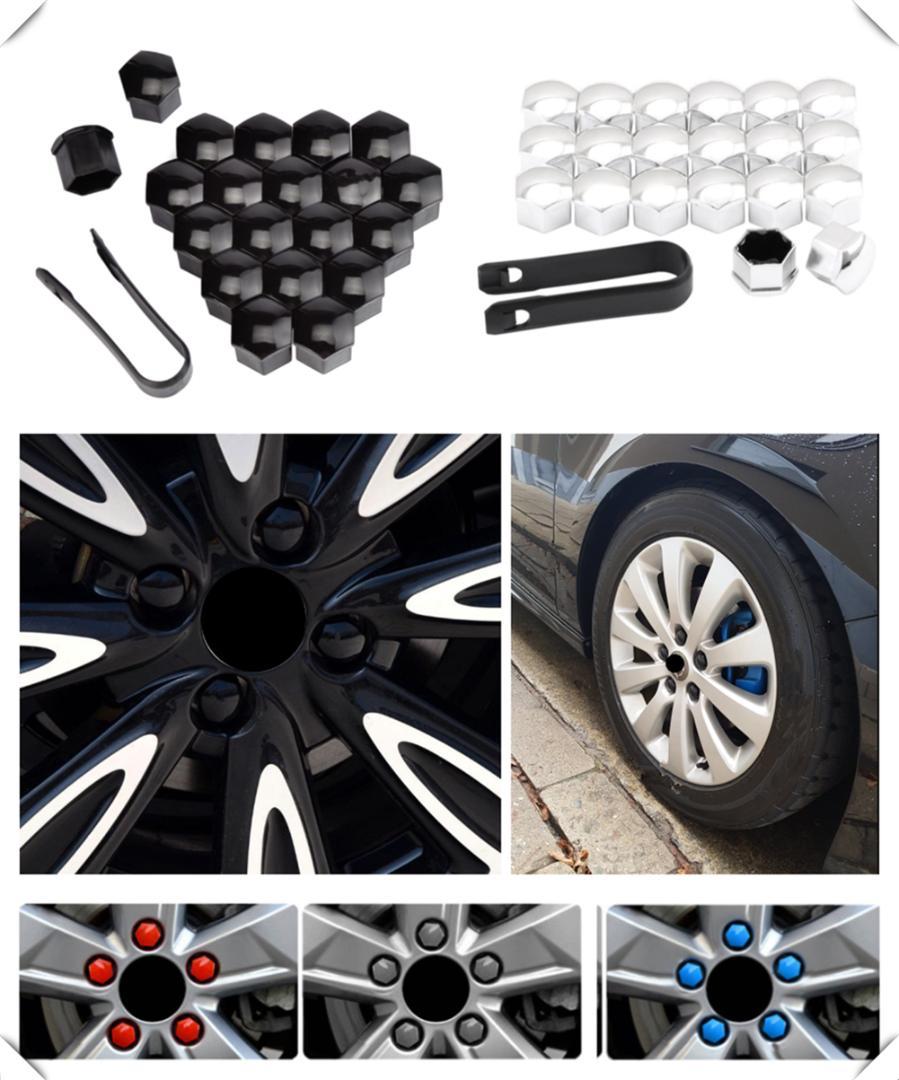 protezione antipolvere e antiruggine Set di 20/tappi decorativi per dado ruota auto 17/mm 19/mm 21/mm