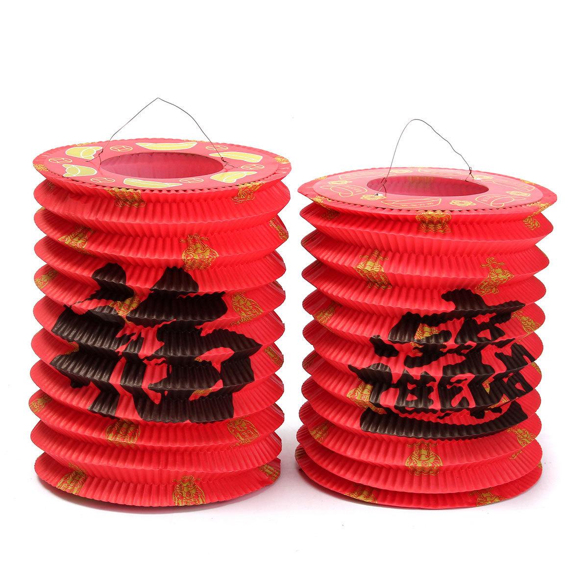 chinois asiatique suspendus papier lanterne coutume tradition mi-automne festival / nouvel an célébrer la décoration de fête