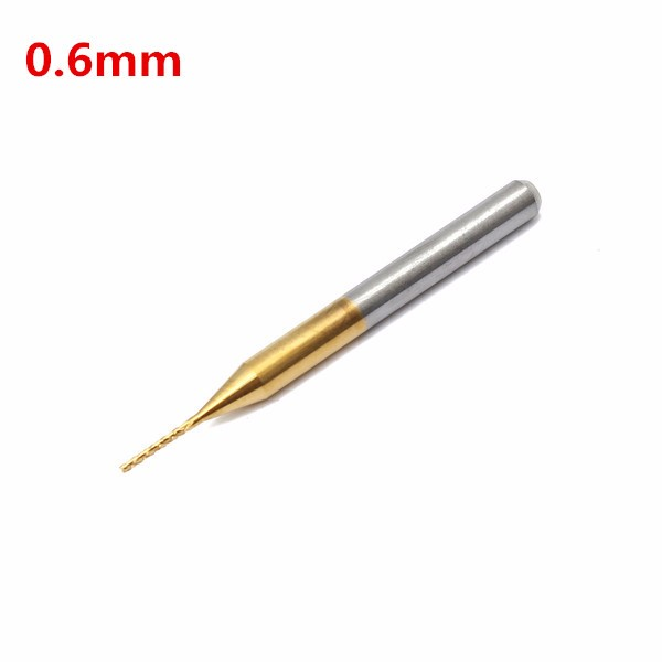 10PCS 1.5mm Carbide End Mill Engraving Bits for CNC//PCB Machinery Rotary Burr