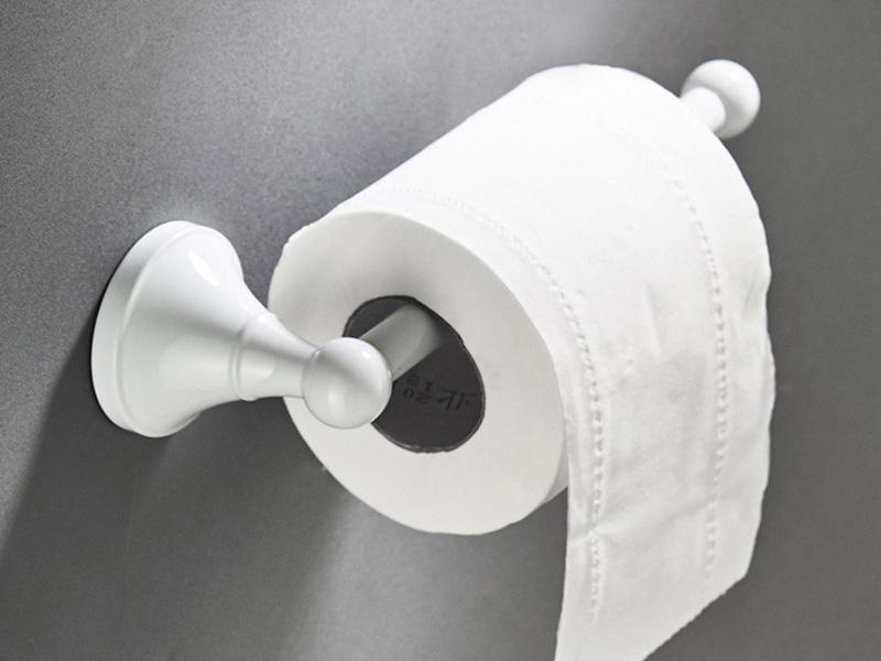 white paper holder 1