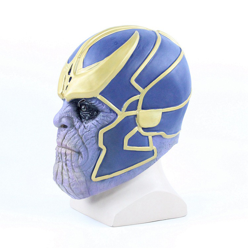Avengers 3 tyrant mask COS Halloween movie Iron Man Sanos Latex smashing unlimited gloves13
