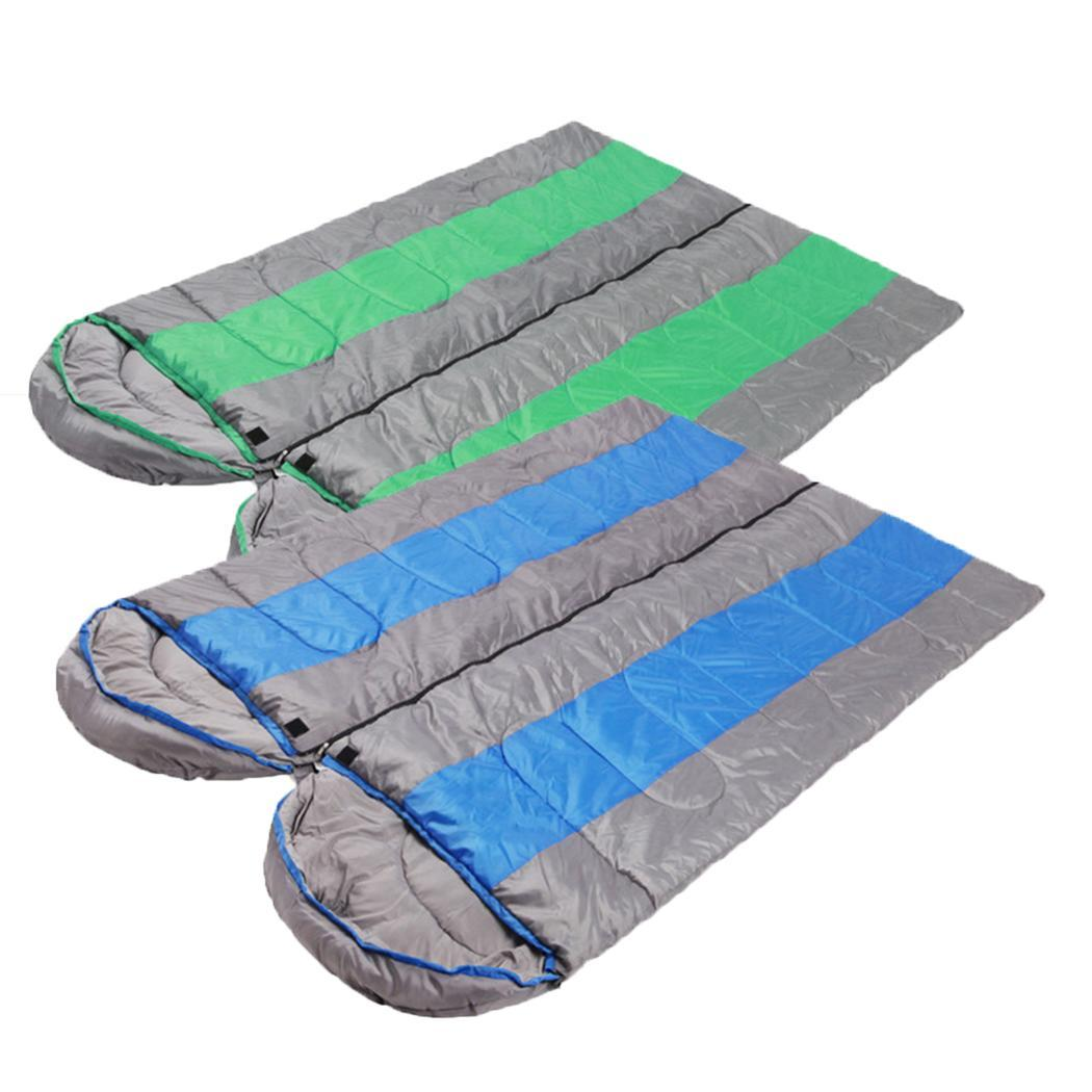 Fashion New Envelope Style Adult Sleeping Bags Camouflage Outdoor Camping Hiking Gear Fashion New Sleeping Bags