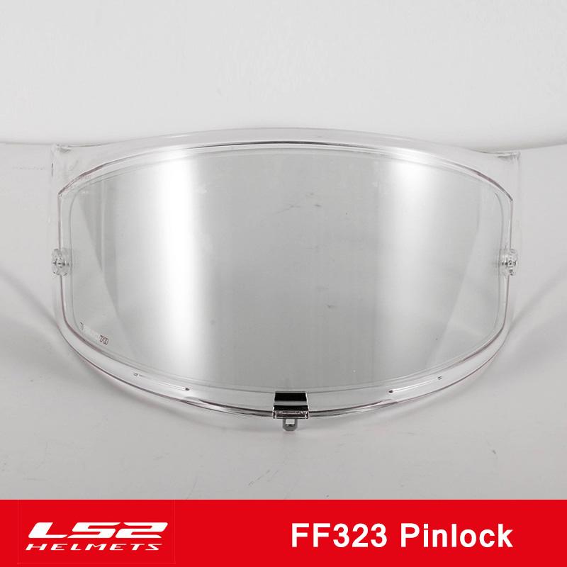 LS2 Visi/ère Casque Valiant ff390 Pinlock Pin Ready Clear