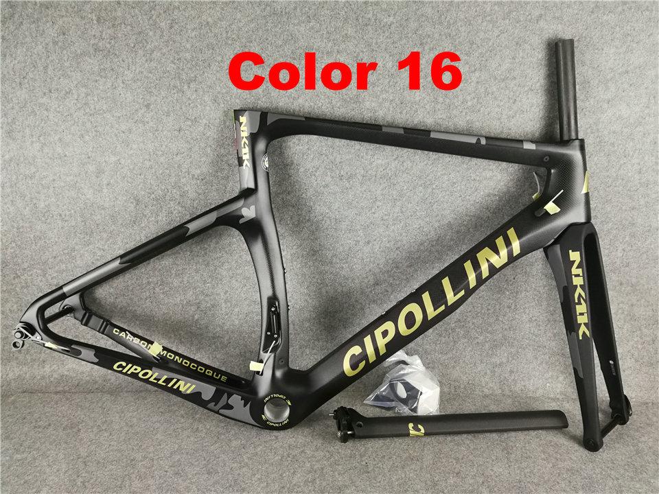 16 Cipollini NK1K 3K Di2 Carbon Bike Frame