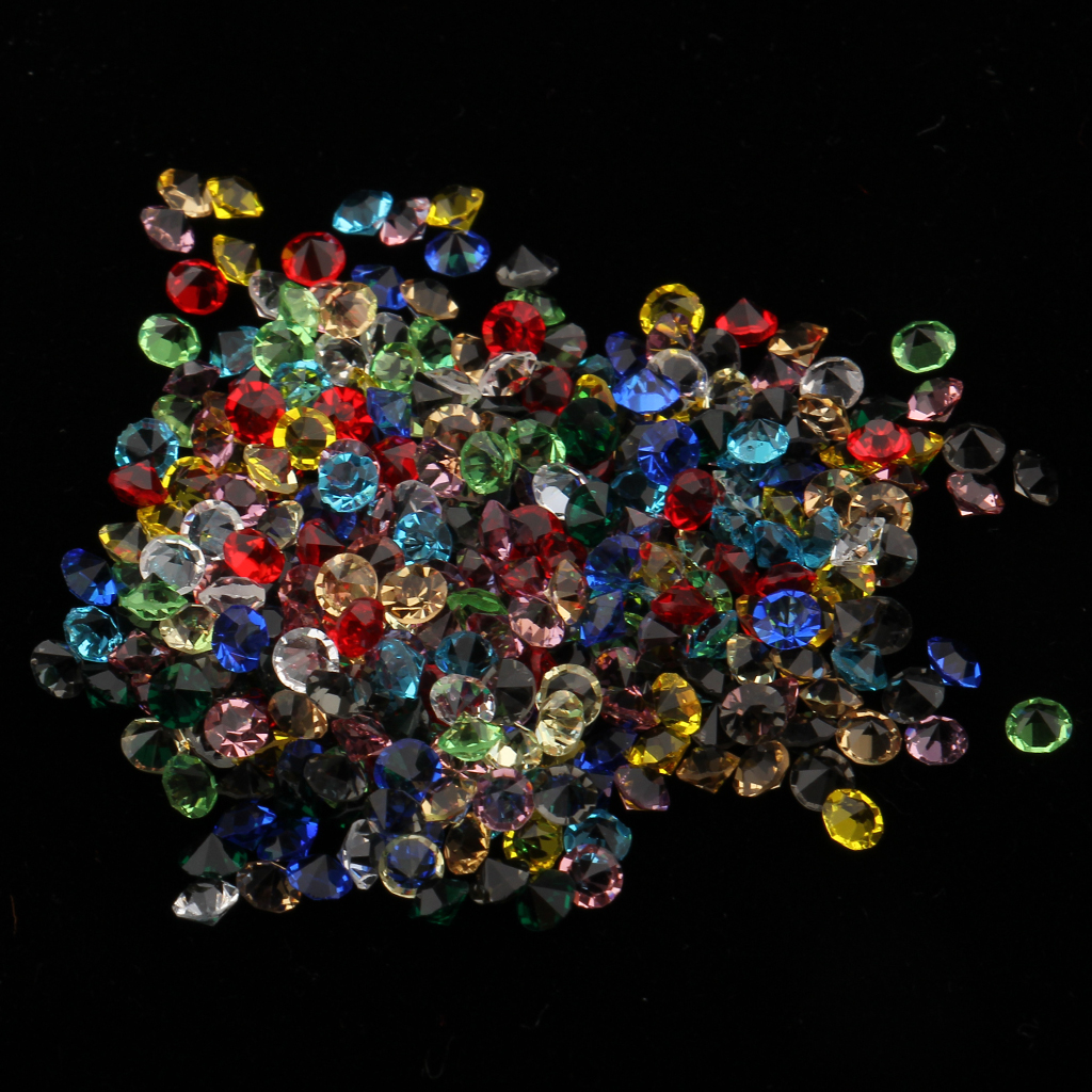 192pcs 3D Nail Art Molds Stamper Stencil Kit&1500 Pieces Rhinestone Crystals