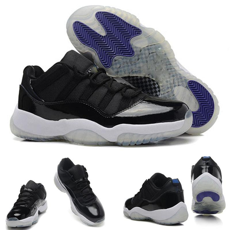 High Quality 11 XI Space Jams Referee Black True Red Men's Basketball Sport Footwear Sneaker Trainers Shoes