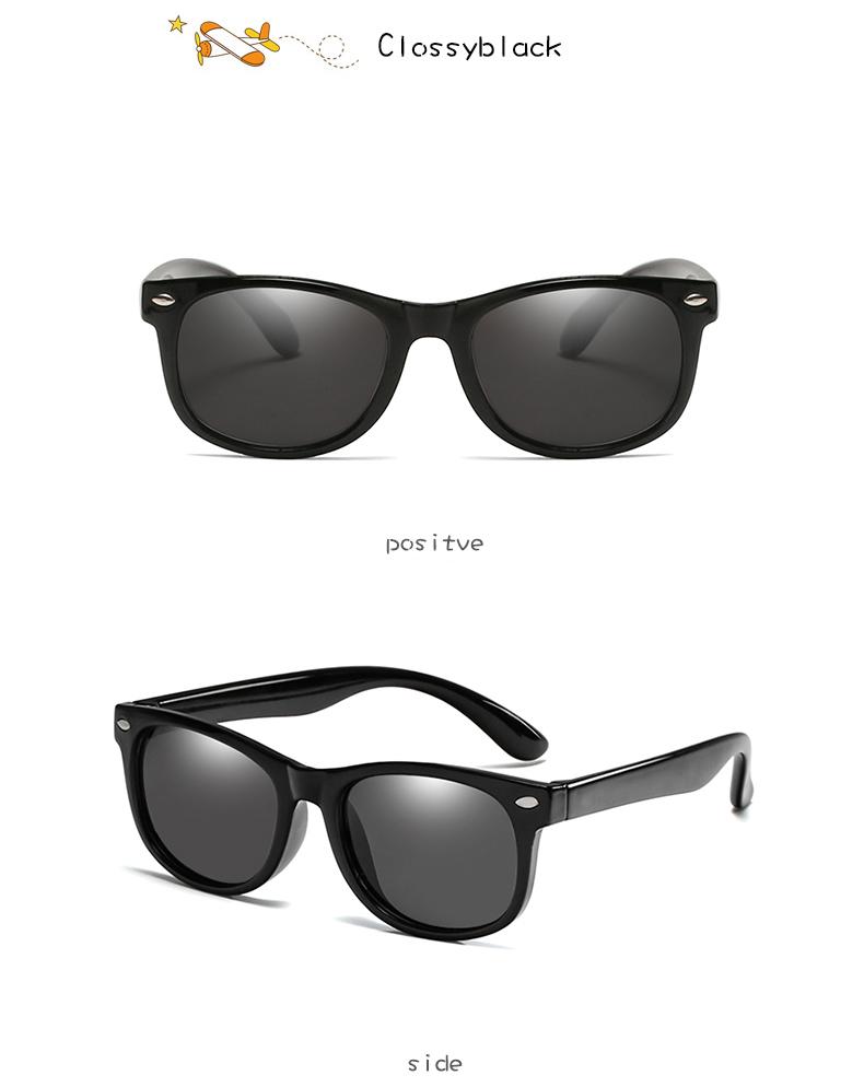 New Mirror Kids Sunglasses Tr90 Boys Girls Polarized Silicone Safety Sun Glasses Gift For Children Baby Uv400 Gafas