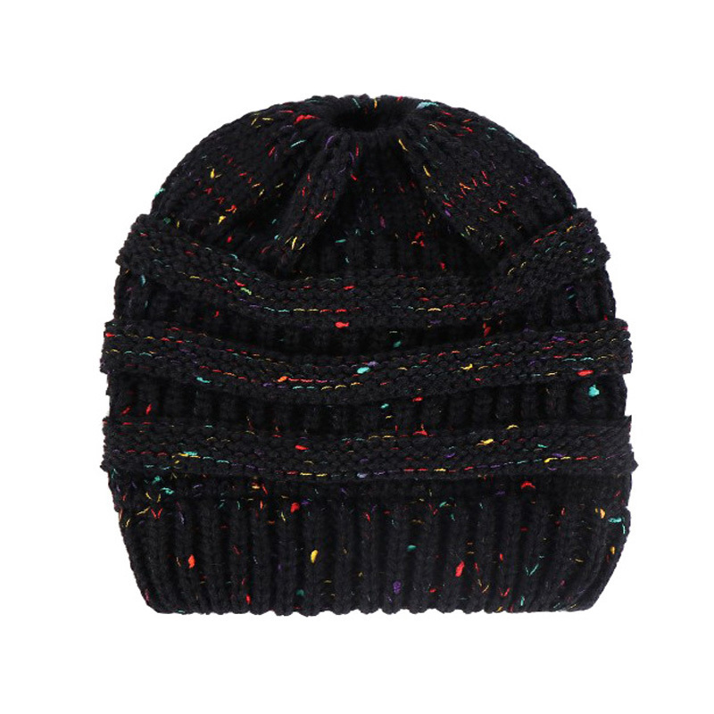 Beanie Winter Hats For Women Crochet Knit Cap Skullies Beanies Warm Caps Female Knitted Stylish Hat Ladies Winter Hats