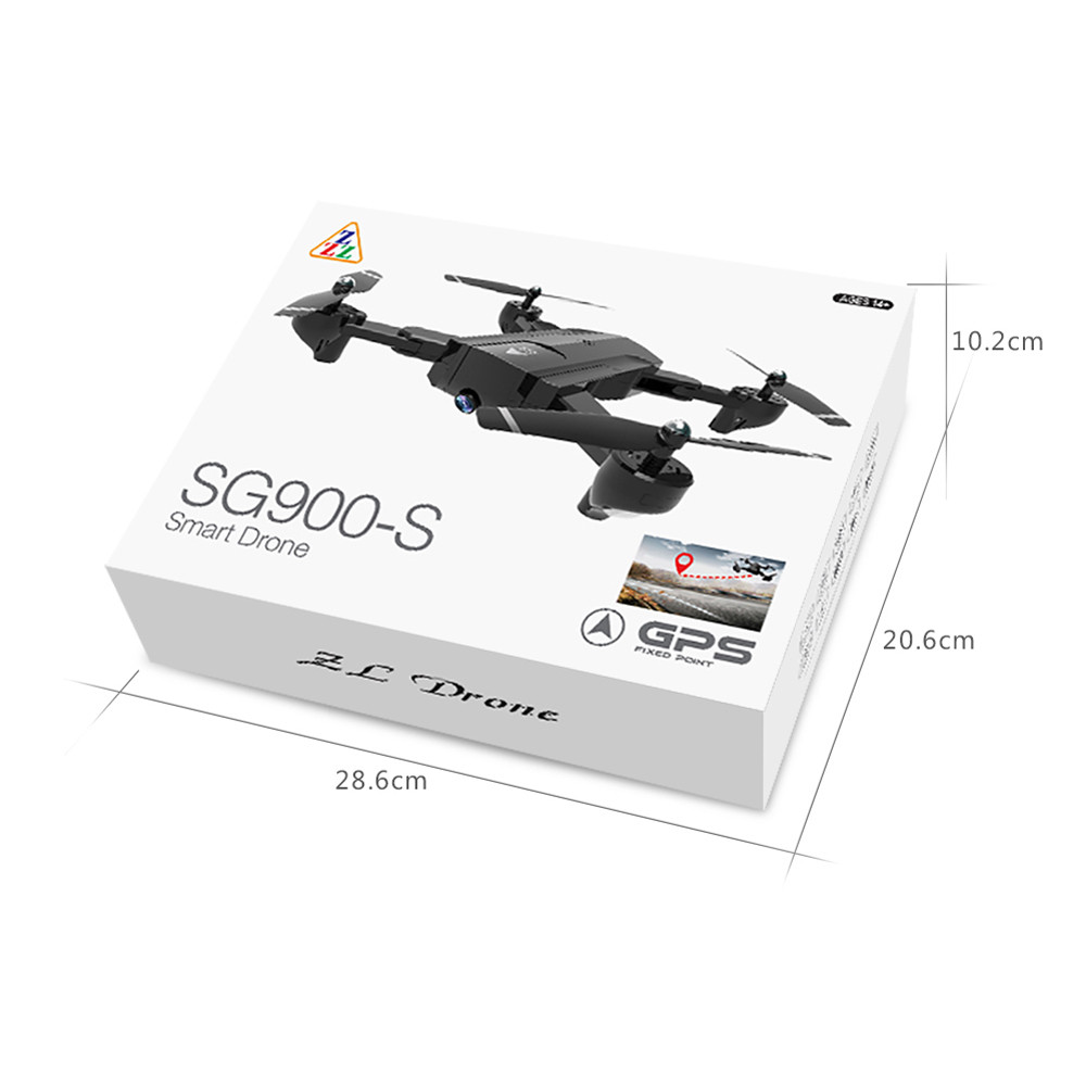 SG900 Foldable Quadcopter 2.4GHz Full HD Camera WIFI FPV GPS Fixed Point Drone remote helicopter High Hold Mode Foldable Arm RC