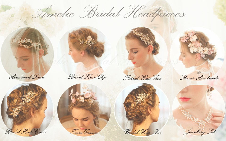 Amelie headpieces