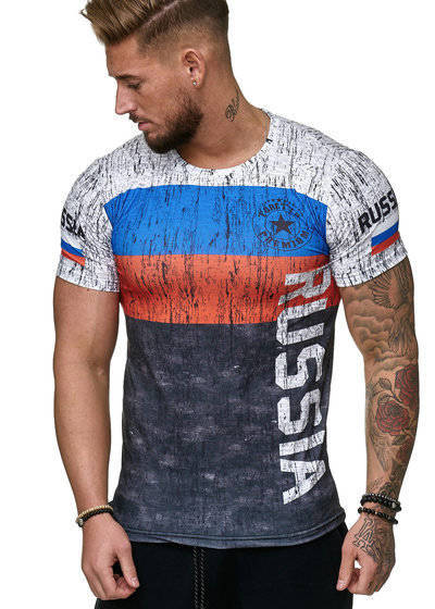 2020 Russian Flag Jerseys Shirts,russia Soccer Jersey T Shirt,top Quality Breathable Sportwear Iptv Russia T-shirt MX200611