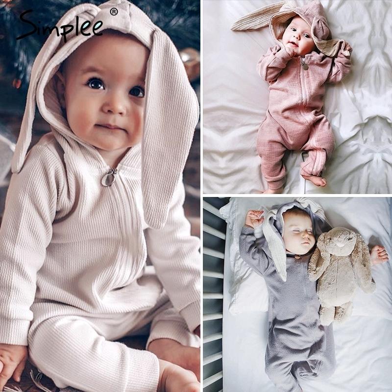 Newborn Baby Boy Girls Long Sleeve Romper Bodysuit Jumpsuit Playsuit Jumpsuit K1