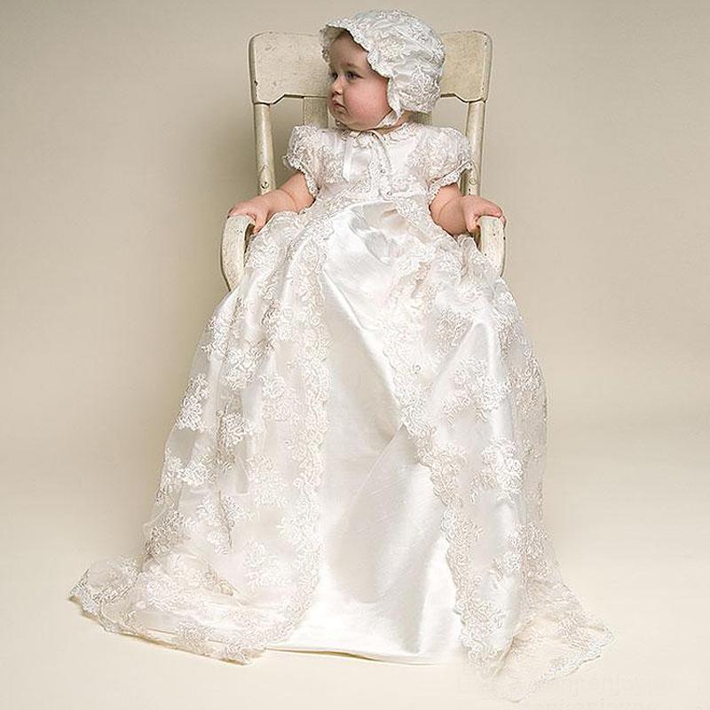 Compre Vintage Baby Girl Vestido Bautismo Vestidos Para Niñas 1er Año Fiesta De Cumpleaños Bautizo Boda Bebé Ropa Infantil Bebes Y190516 A 921 Del