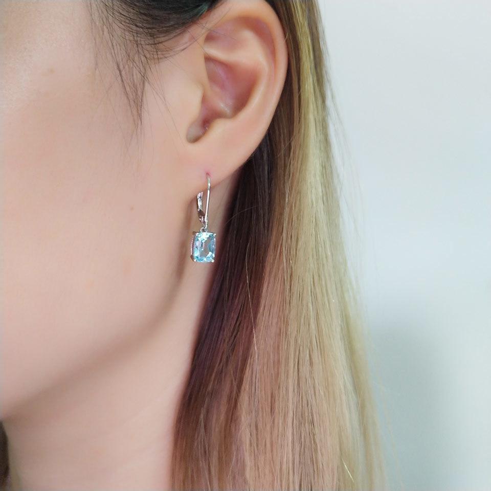 UMCHO Sky blue topaz silver sterling jewelry sets for women EUJ054B-1-pc (13)