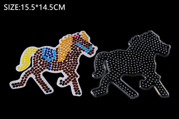 5mm hama beads small template C1