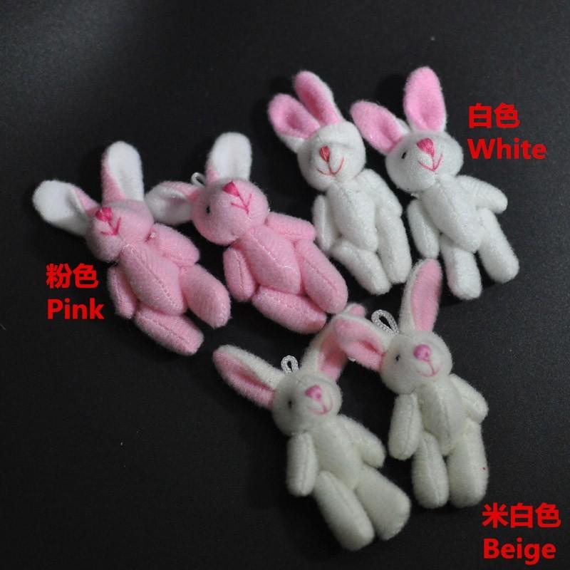 4.5CM Plush Rabbit Bunny 2