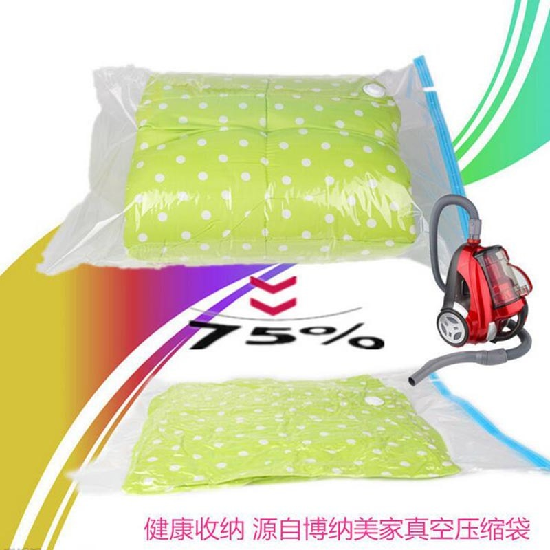Space Saver Saving Storage Vacuum Seal Compressed Organizer Package Bag Vacuum Bags For Clothes Quilt Bathroom Tools ca190 C18112801