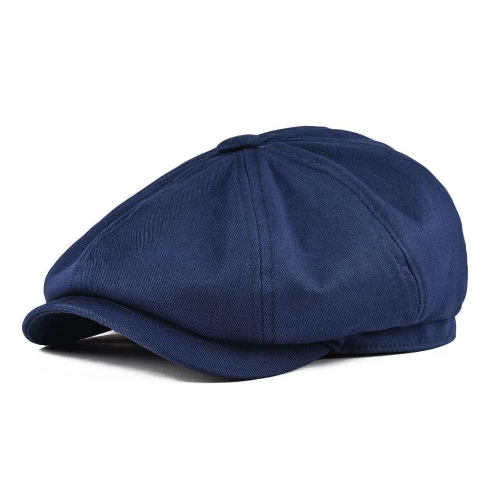 Unisex Peaked Cabbie Driver Baker Cap Gatsby Newsboy Octagonal Beret Hat