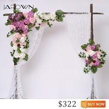 JAROWN-Simulation-Hydrangea-Rose-Flower-Row-Outdoor-Wedding-Party-Arch-Decoration-Design-Floral-Set-Hotel-Background