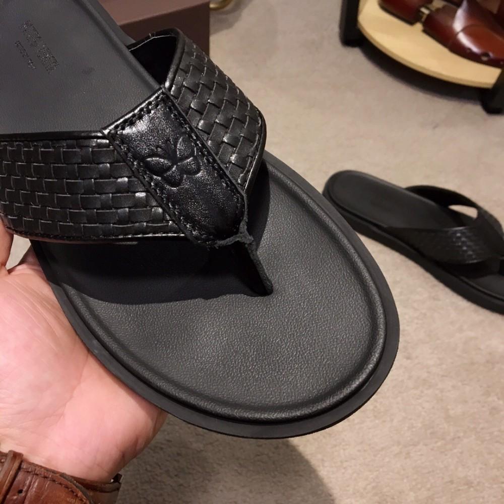 Summer new recommended men's flip-flops quality assurance comfortable foot fashion atmosphere flip flops for men
