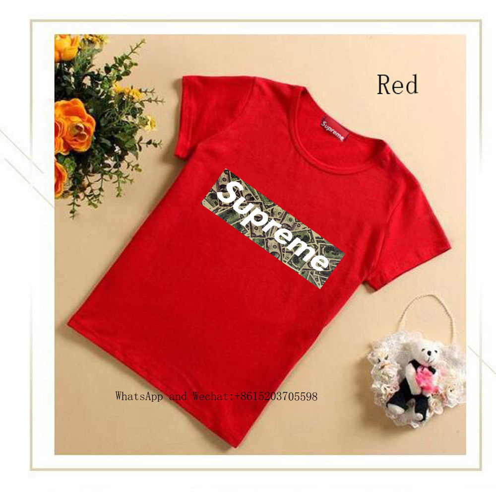 Novo Padrão Grande Criança Dos Desenhos Animados de Algodão Puro de Manga Curta T bonito T-shirt Crianças T Camisa Roupas de Qualidade Fina para Crianças