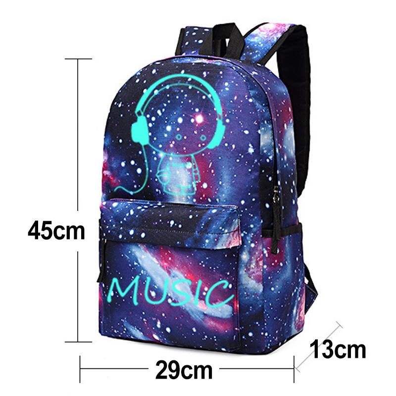 Billie Eilish Girls Rucksäcke Bag Women Schultasche Student Taschen Backpack New