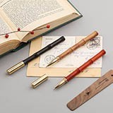 Emoshire Mahogany signature pen creative commemorative gifts office signature pen business gifts to send friends neutral pen custom logo (7)