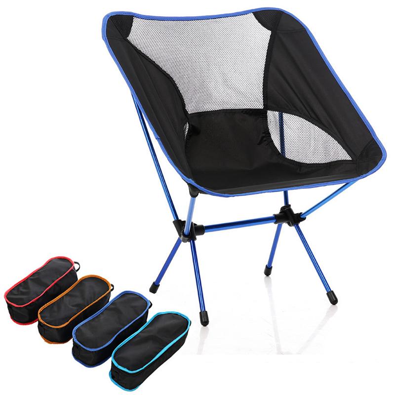 Naturehike L/éger Compact Portable De P/êche en Plein Air Pliable De P/êche Chaise De Pliage Pliable Chaise De Plage Chaise De Camping Pliable Si/ège NH18Y060-Z