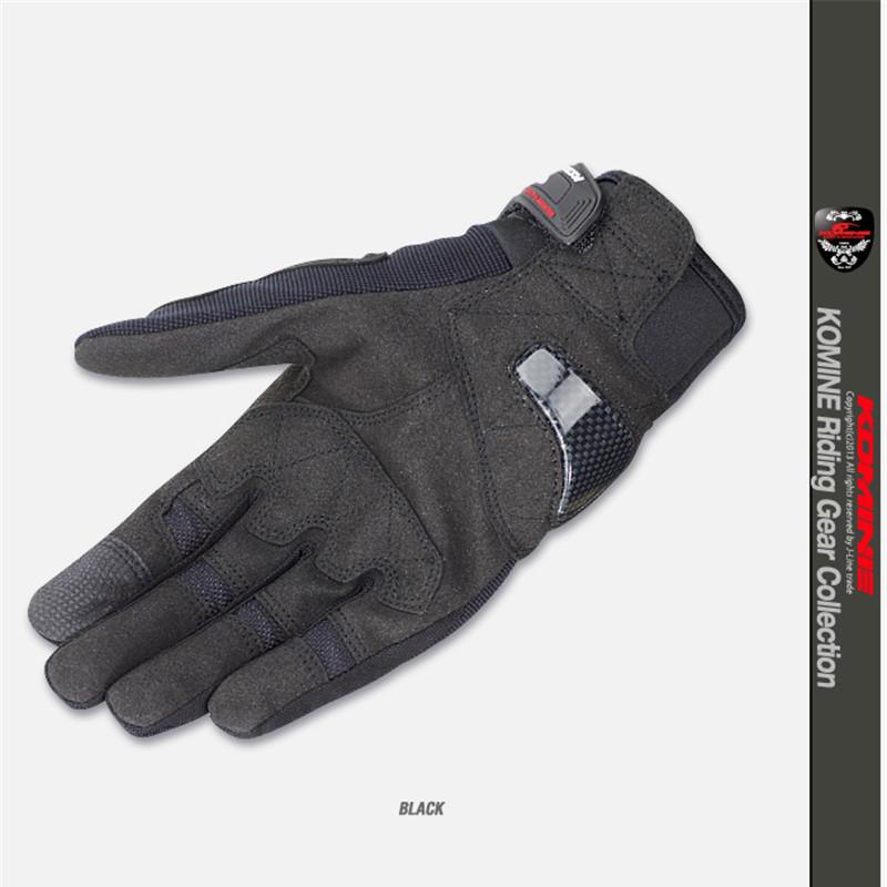 MJMOTO Summer Komine 3D Mesh Motorcycle Breathable Gloves Luva Motoqueiro Guantes Moto Sport Downhill Motocross Gloves Racing M/L/XL/XXL