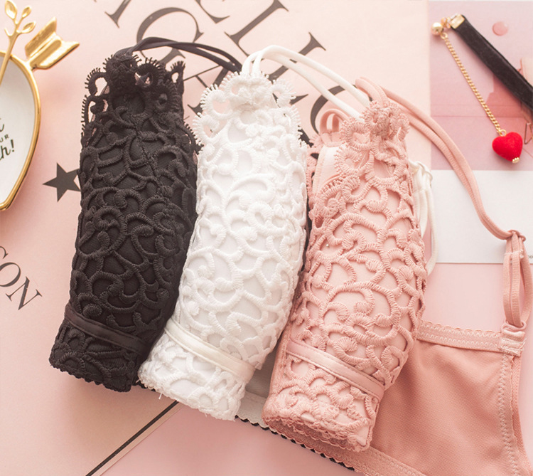 Jerrinut Sexy Lingerie Set Underwear Women Push Up Bra Set Seamless Embroidery Bra And Panty Brassiere Bra Brief Sets 10