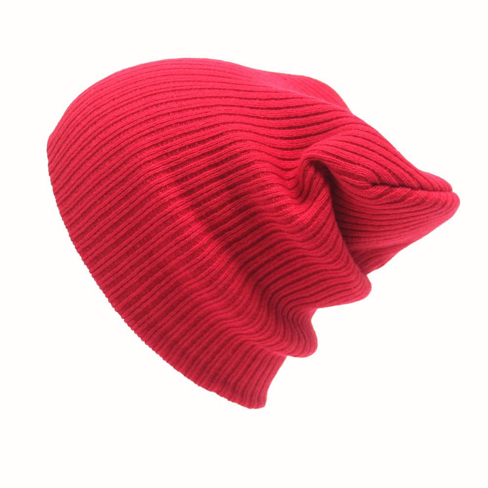 Feitong Winter Casual Hip Hop Beanies Hat For Men Women Knitted Hats Crochet Ski Cap Warm Skullies Gorros S18120302