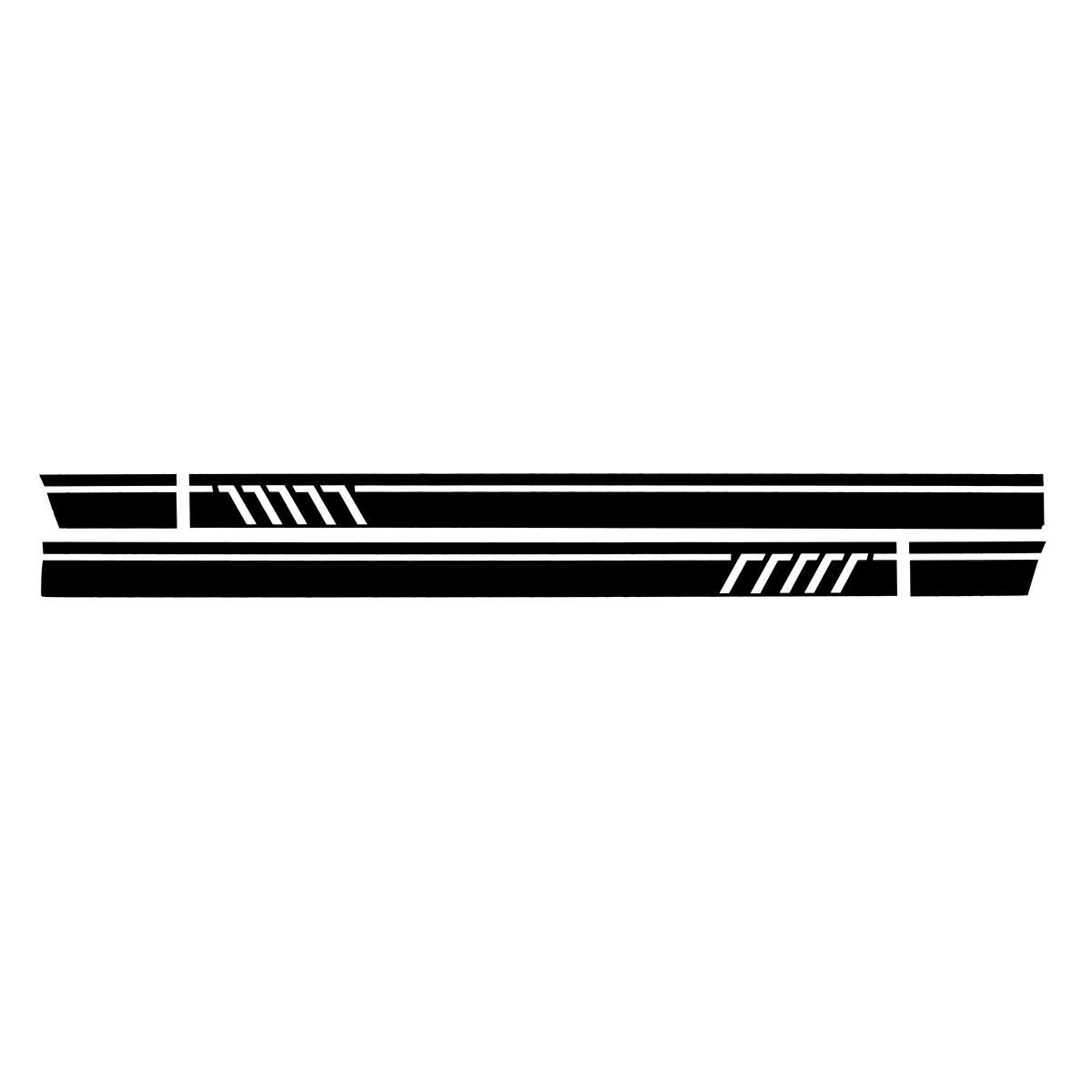Стикер-наклейка на пару с боковыми полосами для Mercedes-Benz W117 C117 X117 CLA -AMG