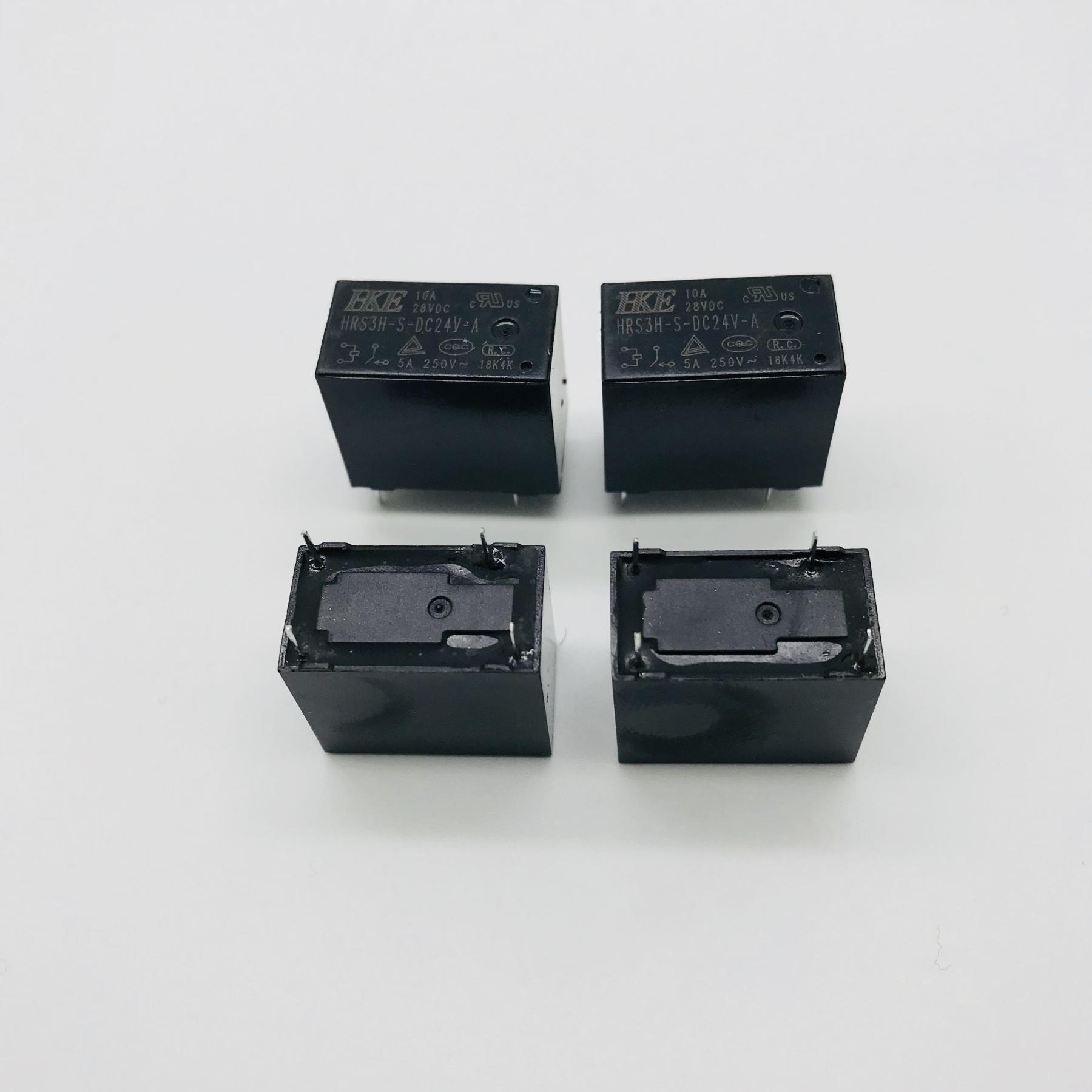 5pcs//10pcs HF46F-5-HS1 New 4Pins Relay DC5V 5VDC