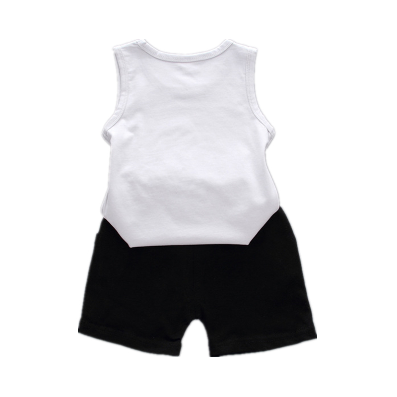 Fashion Summer Children Boys Girls Clothing Suits Baby Cartoon Caterpillar Vest Shorts /Sets Kids Cotton Outfit Tracksuits