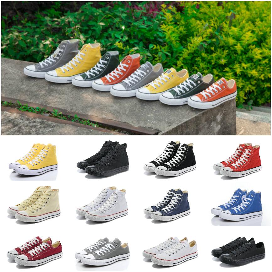 2019 nouvelles chaussures de toile des années 1970 Star All Ox Designer Chaussures Salut reconstruit Slam Jam Noir Reveal Blanc Hommes Femmes Sneaker